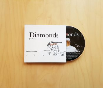 Diamonds CD Front Cover Design and Illustration